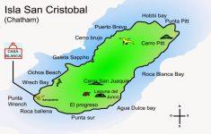 Printable Map Of Galapagos Islands