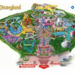 Map High Quality Disneyland California Park Map   Klipy Regarding Printable Disneyland Map 2014
