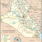 Map Iraq, Country Map Iraq With Regard To Printable Map Of Iraq