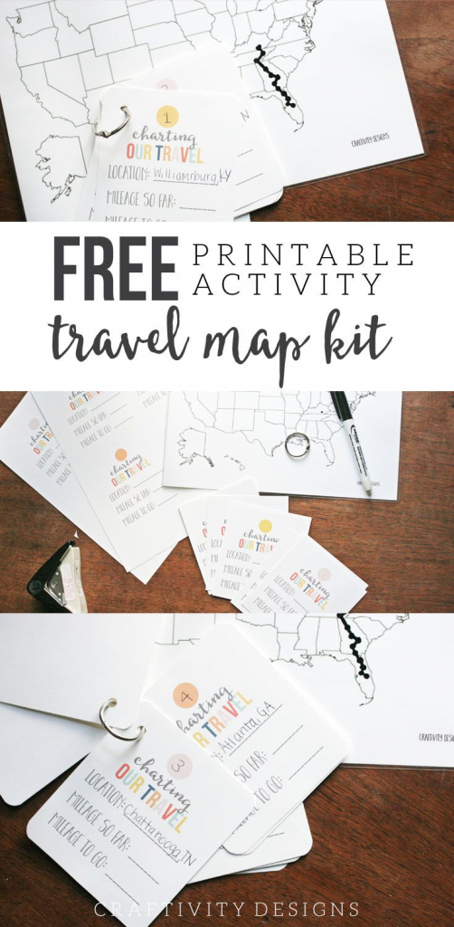 Map My Trip For Kids | Free Printables And Templates | Road Trip for Printable Road Trip Maps