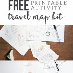 Map My Trip For Kids | Free Printables And Templates | Road Trip Pertaining To Printable Travel Maps For Kids