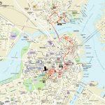Map | Northendboston For Boston Tourist Map Printable