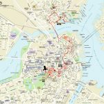 Map | Northendboston Intended For Boston City Map Printable