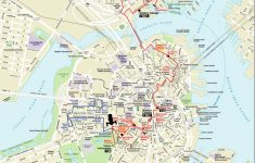 Printable Map Of Boston Attractions
