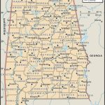 Map Of Alabama County Boundaries And County Seats. | Genealogy For Printable Map Of Tennessee Counties And Cities