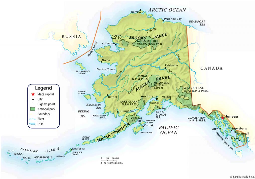 Map Of Alaska   Alaska Political Map Map Tools Print Pdf Zoom   Jb's throughout Printable Map Of Alaska