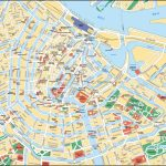 Map Of Amsterdam Tourist Attractions, Sightseeing & Tourist Tour Pertaining To Printable Map Of Amsterdam