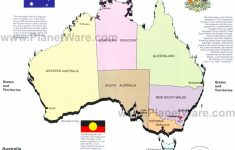 Printable Map Of Australia With States And Capital Cities