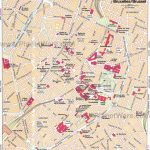 Map Of Brussels Attractions | My Heart Belongs To Brussels | Tourist With Tourist Map Of Brussels Printable
