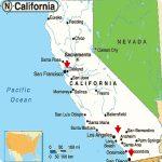 Map Of California Major Cities Printable Maps Map California Google Regarding Printable Map Of California Cities