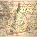 Map Of California Oregon And Washington Printable Map Washington In Printable Map Of Washington State