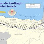 Map Of Camino De Santiago. Map Of Saint James Way With All The For Printable Map Of Camino De Santiago