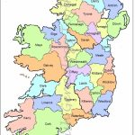 Map Of Counties In Ireland | This County Map Of Ireland Shows All 32 With Regard To Printable Map Of Ireland Counties And Towns