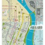 Map Of Downtown Portland   Courtesy Of Powell's Books | Maps In 2019 Pertaining To Printable Map Of Portland Oregon