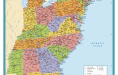 Printable Map Of Usa States And Cities