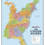 Map Of Eastern United States Printable Interstates Highways Weather Intended For Printable Map Of Eastern United States