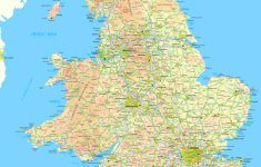 Printable Map Of England With Towns And Cities