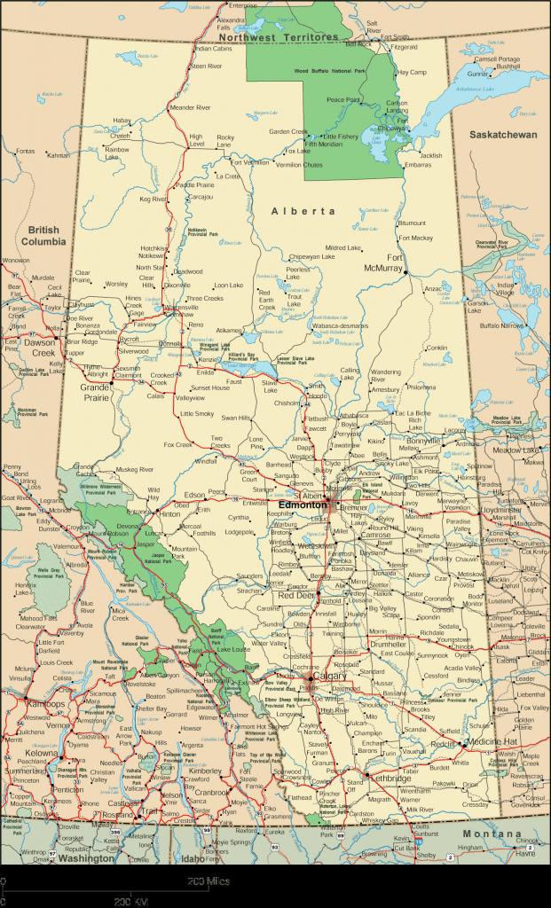Map Of Ensenada Baja California Free Printable Alberta Map Alberta for Free Printable Map Of Alberta