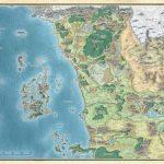 Map Of Faerün | Dungeons & Dragons Throughout D&d Printable Maps