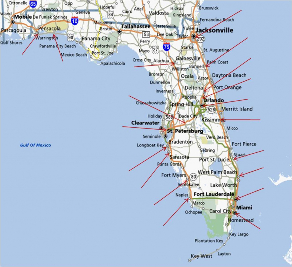Map Of Florida Running Stores - Map Of Lake Mary Florida And with regard to Printable Map Of Ft Myers Fl