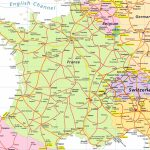 Map Of France And Switzerland   Recana Masana In Printable Road Map Of France