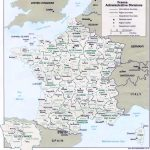 Map Of France : Departments Regions Cities   France Map With Printable Map Of France With Cities