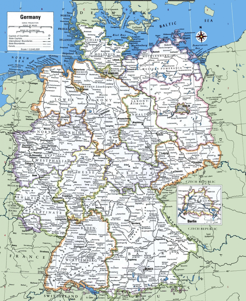 Map Of Germany With Cities And Towns | Traveling On In 2019 | Map in Printable Map Of Germany With Cities And Towns