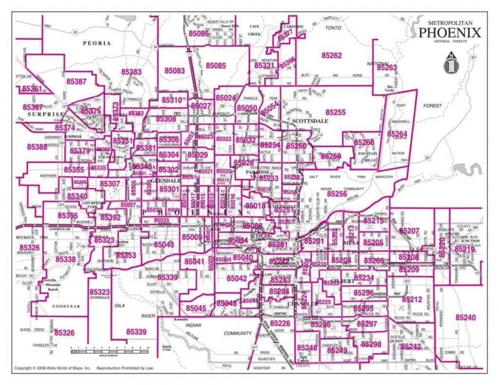Map Of Greater Phoenix Area - Greater Phoenix Area Map (Arizona - Usa) throughout Phoenix Area Map Printable