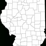 Map Of Illinois Counties   Implrs With Regard To Illinois County Map Printable