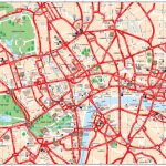 Map Of London Tourist Attractions, Sightseeing & Tourist Tour Intended For Printable Map Of London