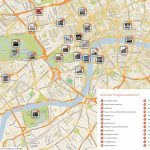 Map Of London With Must See Sights And Attractions. Free Printable Inside London Sightseeing Map Printable