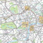 Map Of London With Tourist Attractions Download Printable Street Map With London Street Map Printable