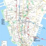 Map Of Manhattan Nyc And Travel Information | Download Free Map Of Pertaining To Map Of Midtown Manhattan Printable