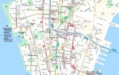 Printable Walking Map Of Midtown Manhattan