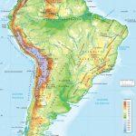 Map Of Mexico South America 08 Silverado Wiring Diagrams In Physical Regarding South America Physical Map Printable