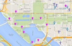 Printable Map Of Dc Monuments