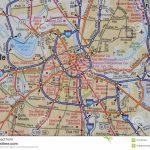 Map Of Nashville, Tn Stock Image. Image Of Macro, Highway – 31735145 within Printable Map Of Nashville Tn