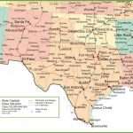 Map Of New Mexico, Oklahoma And Texas   Texas New Mexico Map With Regard To Printable Map Of New Mexico