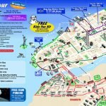Map Of New York City Attractions Printable |  Tourist Map Of New For Free Printable Street Map Of Manhattan
