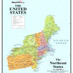 Map Of Northeast Us And Canada East Coast Usa Map Best Of Printable In Printable Map Of East Coast