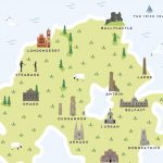 Map Of Northern Ireland Printpepper Pot Studios With Regard To Printable Map Of Northern Ireland