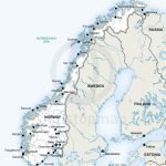 Map Of Norway Political | Homeschool | Norway Map, Map, Map Vector In Printable Map Of Norway With Cities