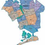 Map Of Nyc 5 Boroughs & Neighborhoods For Printable Map Of Brooklyn Ny Neighborhoods