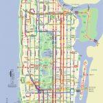 Map Of Nyc Bus: Stations & Lines Regarding Printable Manhattan Bus Map