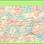 Map Of Pennsylvania | State Map Of Usa pertaining to Pa County Map Printable