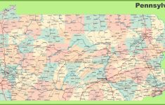 Pa County Map Printable