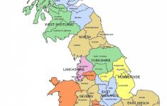 Printable Map Of Uk Cities And Counties