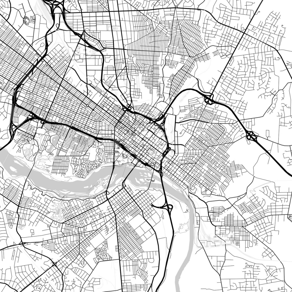 Map Of Richmond, Virginia   Hebstreits Sketches inside Printable Map Of Richmond Va