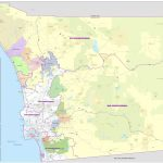 Map Of San Diego County   Printable Map Of San Diego County Inside Printable Map Of San Diego