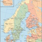Map Of Scandinavia | Scandinavian Tours Throughout Printable Map Of Denmark